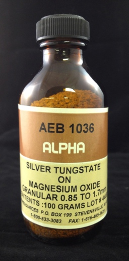 View AG TUNGSTATE/MG OXIDE
