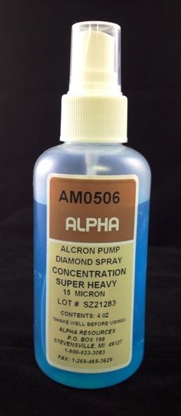 View 15µ Diamond Spray 4 OZ.
