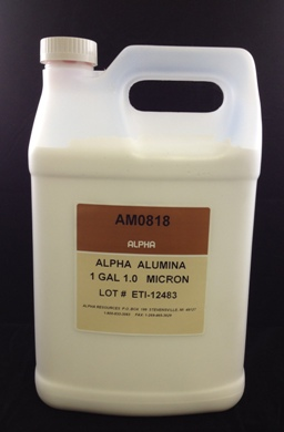 View 1µ Alumina Suspension 1 Gallon
