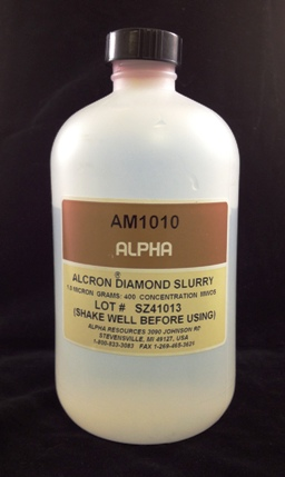 View 1µ Diamond Slurry 400 Grams