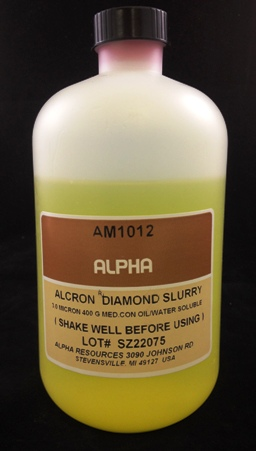 View 3µ Diamond Slurry 400 ML