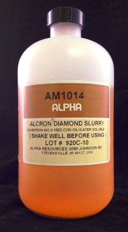 View 6µ Diamond Slurry 400 Grams