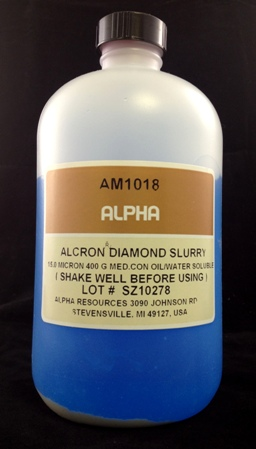 View 15µ Diamond Slurry 400 Grams