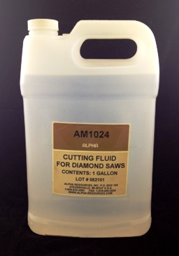 View CUTTING FLUID FOR DIAMOND SAWS
