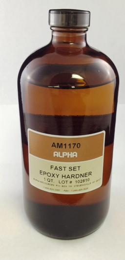 View FAST SET EPOXY HARDENER, 1 QT,