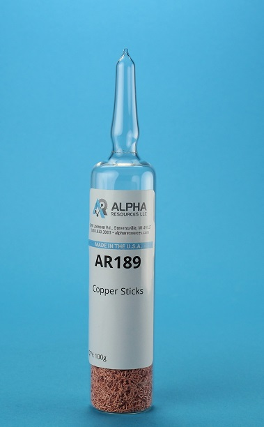 View COPPER STICKS 100 G AMPOULE