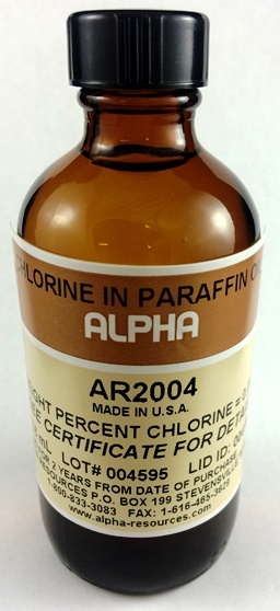 View 9 PPM CHLORINE IN PARAFFIN OIL , 100ml