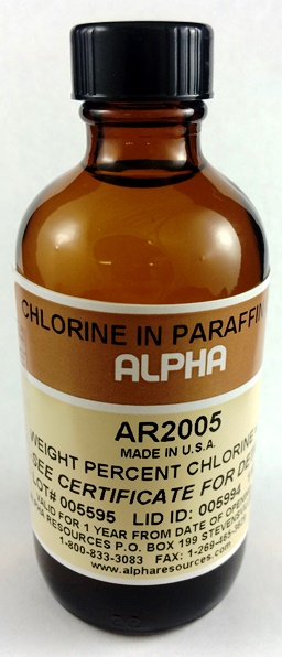 View 120 PPM CHLORINE IN PARAFFIN OIL , 100ml
