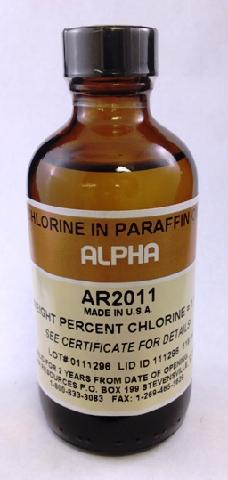 View 1.17% CHLORINE IN PARAFFIN OIL , 100ml
