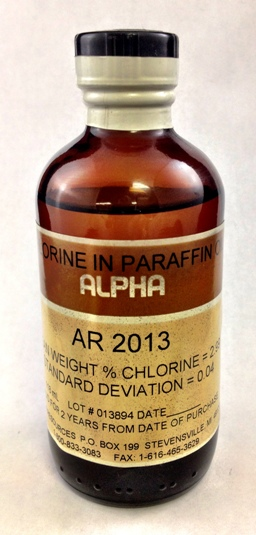 View  3.06% CHLORINE IN PARAFFIN OIL, 100ml