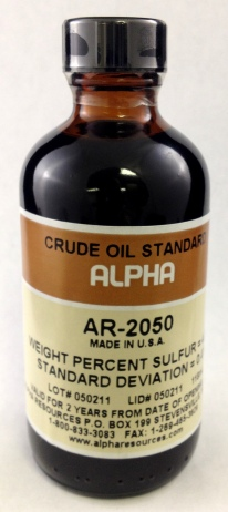 View CRUDE OIL, 4.00 WT.%S   118 ML BOTTLE