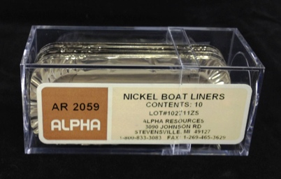 View NICKEL BOAT LINERS, PK OF 10 L