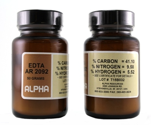 View EDTA, 50 G BOTTLE