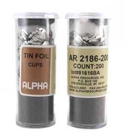 View TIN FOIL CUPS, 36mm x 36mm, 200pcs