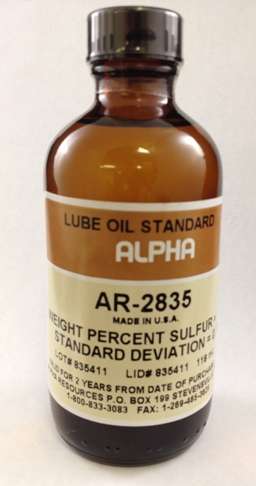 View LUBE OIL, 1.00%S , 100ml