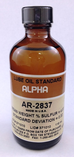 View LUBE OIL, 4.00%S , 100ml