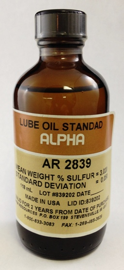 View LUBE OIL, 3.00%S, 100ml