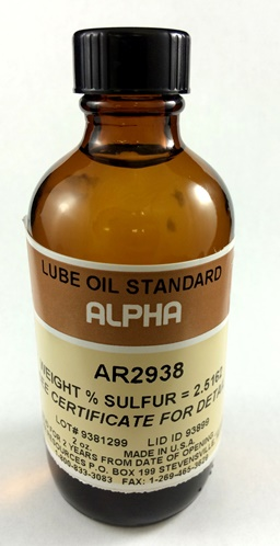 View LUBE OIL, 2.50 %S , 100ml