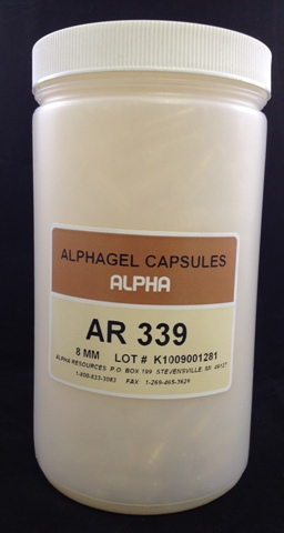 View ALPHAGEL CAPSULES, 8 MM OD, 400pcs