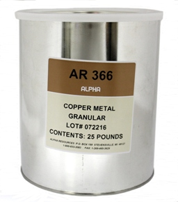 View Copper Metal Accelerator - Bulk 25lbs Container