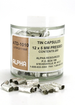 View TIN CAPSULES, 12MM X 5MM, 200