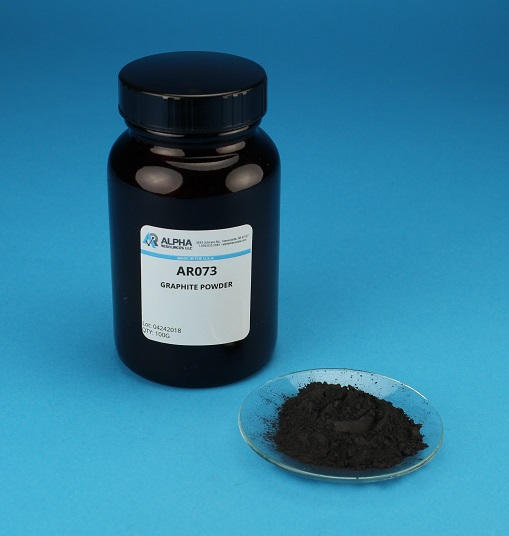 View High Purity Graphite Powder - 100g Per Bottle