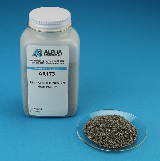 View Alphacel II High Purity Tungsten/Tin Blend - 750g Bottle
