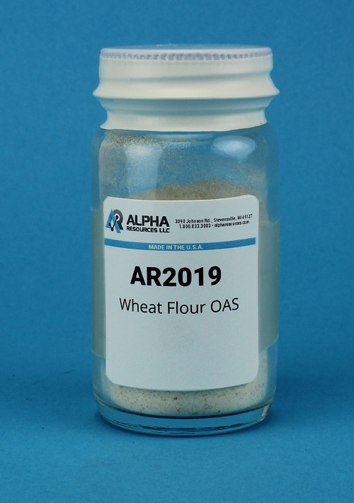 View Wheat Flour Organic Analytical  (C= 38.86% H= 5.45%)