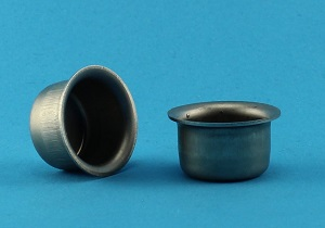View AC Crucible, Stainless Steel