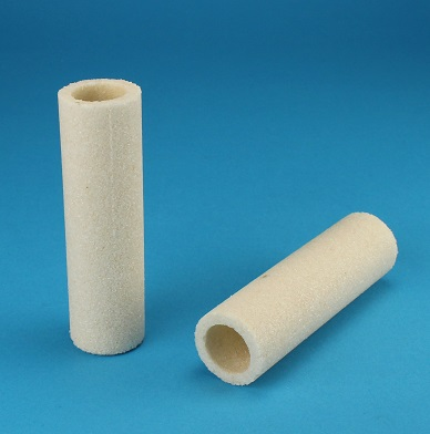 View Large Ceramic Ash Crucible - Solid Samples - 10 Per Package