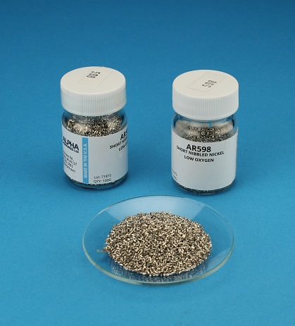 View Short Nibbled Nickel Accelerator - 100g Bottle
