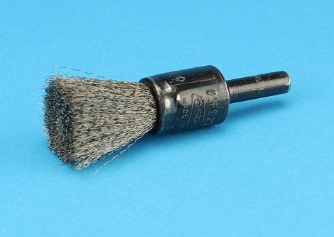 View Electrode Cleaning Brush