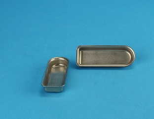 View Small Inconel Boat (L=54mm, W=18mm, H=9mm)